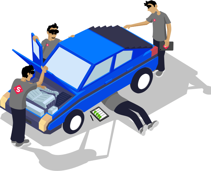 200-Point Rigorous Inspection by Our Expert Car Inspectors