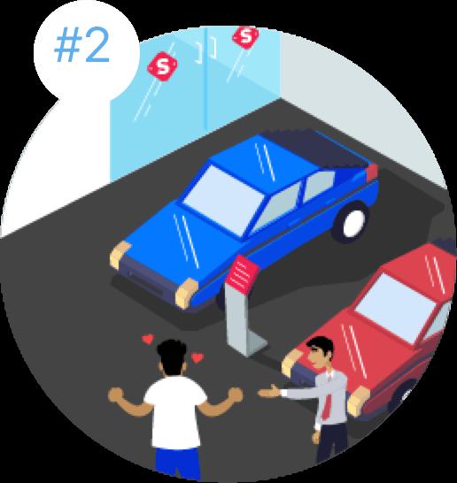 Visit Spinny Car Hub & Check Out the Car